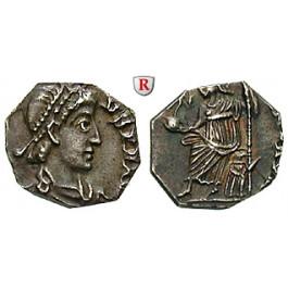 Römische Kaiserzeit, Arcadius, Siliqua, ss/f.vz