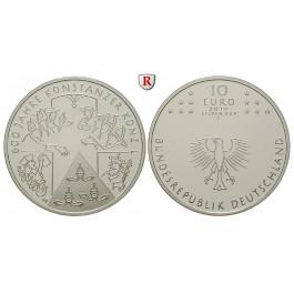 Bundesrepublik Deutschland, 10 Euro 2014, 600 Jahre Konzil von Konstanz, F, PP