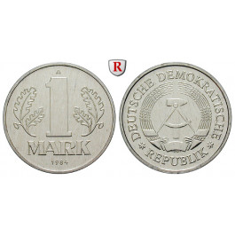 DDR, 1 Mark 1984, Export, A, st, J. 1514