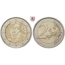 Frankreich, V. Republik, 2 Euro 2015, bfr.