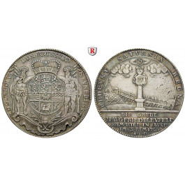 Braunschweig, Braunschweig-Wolfenbüttel, Karl, Reichstaler 1752, ss-vz