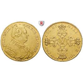 Brandenburg-Preussen, Königreich Preussen, Friedrich Wilhelm I., Wilhelms d`or 1737, ss+