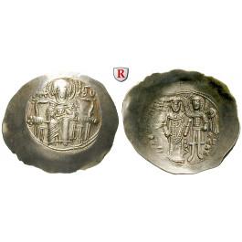 Byzanz, Isaac II. Angelus, Aspron Trachy, vz-st