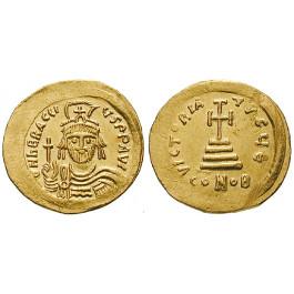 Byzanz, Heraclius, Solidus 610-613, vz-st/vz