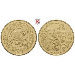 Frankreich, V. Republik, 50 Euro 2010, 7,77 g fein, PP