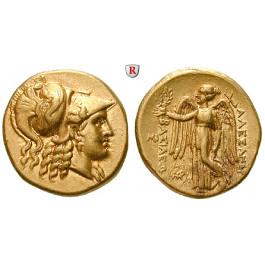 Makedonien, Königreich, Alexander III. der Grosse, Stater 310-300 v.Chr., vz-st/vz