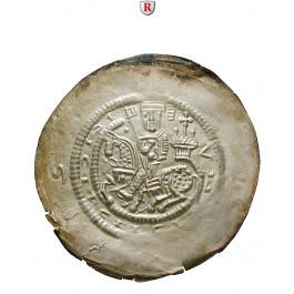 Thüringen, Landgrafschaft, Hermann I., Brakteat o.J. (um 1208-1215), vz-st