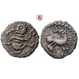 Deutschland, Hessen, Ubii, Quinar 1. Jh.v.Chr., f.vz