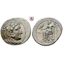 Makedonien, Königreich, Alexander III. der Grosse, Tetradrachme 325-323 v.Chr., vz/ss-vz