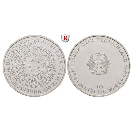 Bundesrepublik Deutschland, 10 DM 1999, PP, J. 471