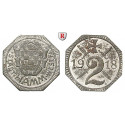 , Westfalen, 2 Pfennig 1918, xf-unc
