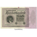 Inflation 1919-1924, 100000 Mark 01.02.1923, II, Rb. 82a