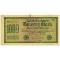 Inflation 1919-1924, 1000 Mark 15.09.1922, I-, Rb. 75i