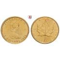 Canada, Elizabeth II., 5 Dollars seit 1982, 3.11 g fine, FDC