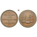 Elberfeld, City, Tin medal 1854, vf-xf