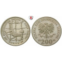 Poland, People´s Republic, 200 Zlotych 1985, PROOF