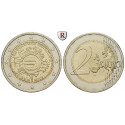 Federal Republic, Commemoratives, 2 Euro 2012, our choice, unc