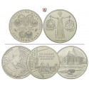 Federal Republic, Commemoratives, 10 DM 1998-, 14.34 g fine, xf-unc