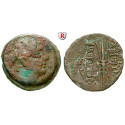 Syria, Seleucid Kingdom, Antiochos IX, Bronze, nearly vf