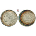 France, Government of National Defense, 50 Centimes 1871, nearly xf