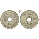France, Third Republic, 10 Centimes 1927, good xf