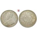 India, British India, George V., Rupee 1919, xf / xf-unc