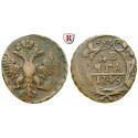 Russia, Elizabeth, Denga 1749, vf