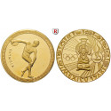 Sports, Olympic Games, Gold medal o.J., 15.9 g fine, PROOF