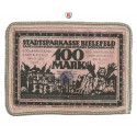 Emergency Isssues, Special Materials, Bielefeld, 100 Mark 15.7.1921, I