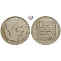 France, Provisional Government, 10 Francs 1945, vf-xf
