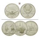 Russia, USSR, 5 Roubles 1977-1980, 15.0 g fine