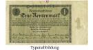 Deutsche Rentenbank 1923-1937, 1 Rentenmark 01.11.1923, III, Rb. 154a