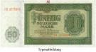 DDR, 50 Mark 1948, III, Rb. 345b