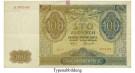 Besatzungsausgaben des 2. Weltkrieges 1939-1945, Generalgouvernement Polen, 100 Zloty 01.08.1941, II, Rb. 583