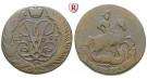 Russland, Elisabeth, 2 Kopeken 1757, ss