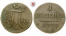 Russland, Paul I., Kopeke 1797, ss+