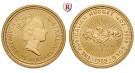 Australien, Elizabeth II., 25 Dollars seit 1989, 7,78 g fein, st