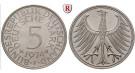 Bundesrepublik Deutschland, 5 DM 1967, F, vz+, J. 387