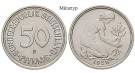 Bundesrepublik Deutschland, 50 Pfennig 1968, J, st, J. 384