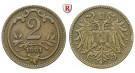 Österreich, Kaiserreich, Franz Joseph I., 2 Heller 1901, ss