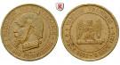 Frankreich, Regierung der Nationalen Verteidigung, Messingmedaille 1870, ss/ss-vz