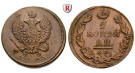 Russland, Alexander I., 2 Kopeken 1813, f.st