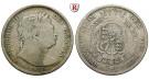 Grossbritannien, George III., Halfcrown 1817, s-ss