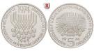 Bundesrepublik Deutschland, 5 DM 1974, Grundgesetz, F, PP, J. 413
