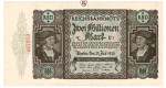Inflation 1919-1924, 2 Mio Mark 23.07.1923, I, Rb. 89b