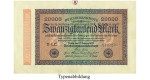 Inflation 1919-1924, 20000 Mark 20.02.1923, I-, Rb. 84e