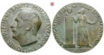 Personenmedaillen, Babits, Mihaly - Ungarischer Dichter, Bronzemedaille 1942, vz