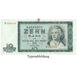 DDR, 10 Mark 1964, I, Rb. 355a