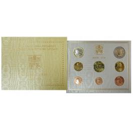 Vatikan, Benedikt XVI., Euro-Kursmünzensatz 2009, st