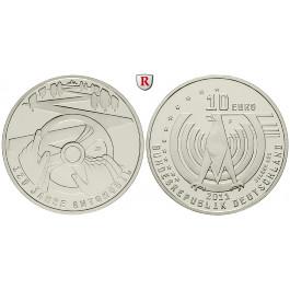 Bundesrepublik Deutschland, 10 Euro 2011, 125 Jahre Automobil, F, 10,0 g fein, PP